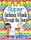 Sentence Wheels Through the Year