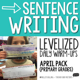 Sentence Writing Warm-Ups (April)