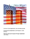 September 11th Bundle: Two Common Core Aligned Activities