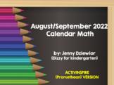August/September 2015 Calendar Math for the Promethean Boa