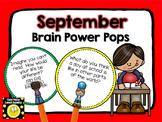 September Brain Power Pops