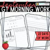 September Challenge Daily Morning Work 2nd Grade