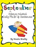 September Daily Fix It Up Sentences