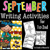 September Writing Activities for 1st-2nd Grades :o)