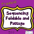 Sequencing Foldable and Passage
