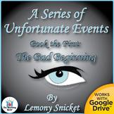 Series of Unfortunate Events: The Bad Beginning Novel Unit CD