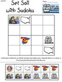 """""""Set Sail with Sudoku"""" (Primary Columbus Day Sudoku)"""