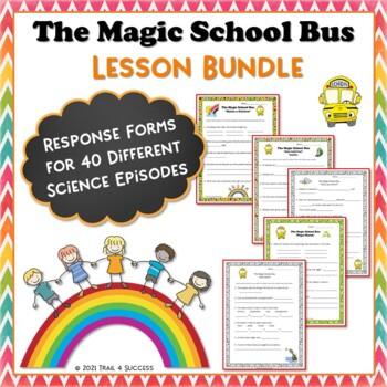 Set of 15 Magic School Bus Video Response Worksheets