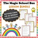 Magic School Bus Bundle 15 Video Response Worksheets