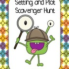 Freebie - Setting and Plot Scavenger Hunt