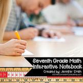 Seventh Grade Interactive Notebook Bundle- All Standards