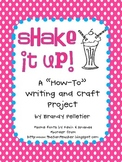 """Shake It Up: A """"How-To"""" Writing Activity and Craft"""