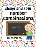 Shake & Spill Number Combinations (Numbers 3-10)