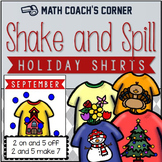 Shake and Spill Holiday Shirts, Composing and Decomposing