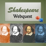 Shakespeare Webquest w/ PowerPoint