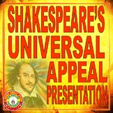 Shakespeare's Universal Appeal--Powerpoint