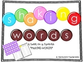 Shaking Words (word building)