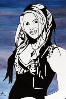 Shakira Poster 16 X 24