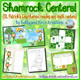 Shamrock Centers! {St. Patrick's Day-themed reading and ma