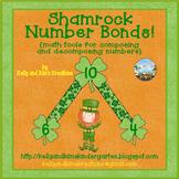 Shamrock Number Bonds! {math tools for composing and decom