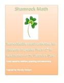 Shamrock math! PreK-1st grade reproducible St. Patrick's D