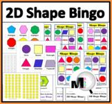 2D Shape Bingo Game