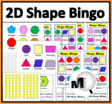 2D Shape Bingo Game