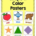 Shape & Color Posters