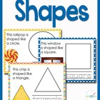 Play Dough Mats for Basic Shapes