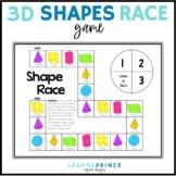 Shape Race {3D Shapes}