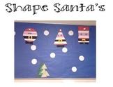 Shape Santas