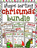 Shape Sorting Christmas Bundle