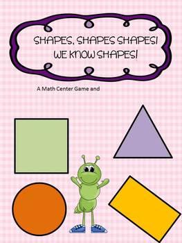 Shapes, Shapes, Shapes, I know Shapes