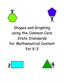 Shapes and Graphing using the Common Core State Standards for K-3