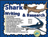 Shark Writing Unit with Craftivity - Headbands - Emergent