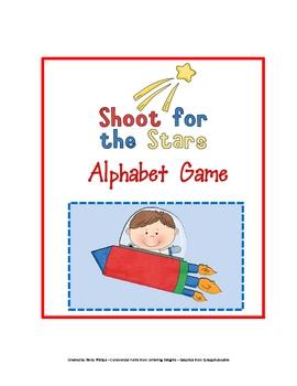 Shoot for the Stars Alphabet Game
