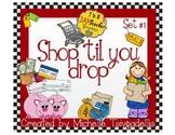 Shop 'Til You Drop: Store and Shopping Digital Clip Art