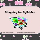 Shopping for Syllables  Common Core RF.K.3