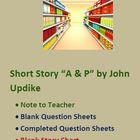 Short Story John Updike's A & P