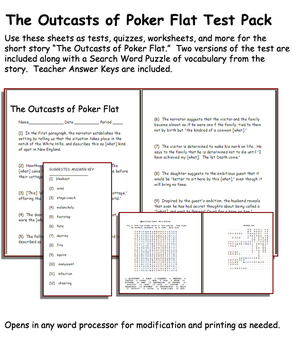 Short Story Test: The Outcasts of Poker Flat by Brete Hart