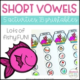 Short Vowel Activities and Printables