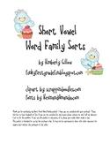 Short Vowel Word Family Sort