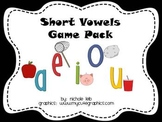 Short Vowels Game Pack