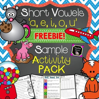 https://www.teacherspayteachers.com/Product/Short-Vowels-FREE-1212430