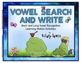 Short and Long Vowel Search and Write - Quick and Easy Lit