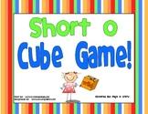Short  o Vowel Cube Game!