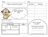 Short story story map, graphic organizer, comprehension ai