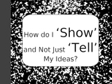 Show Don't Tell Powerpoint