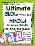 """Show What You Know!"" BUNDLE- 36 1st, 2nd, and 3rd Grade W"