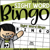 Sight Word Bingo (Pre-Primer)